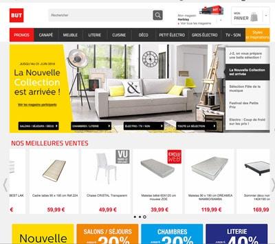 Acheter des meubles pas cher sur le site but.fr