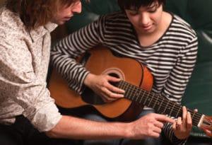 prof de guitare