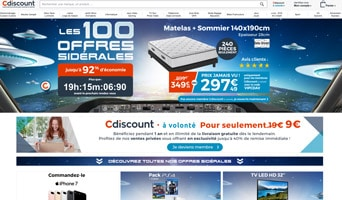 cdiscount promotion