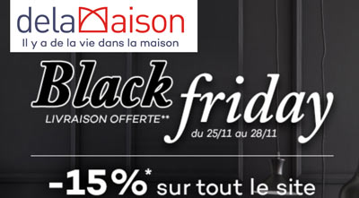 Black Friday Delamaison