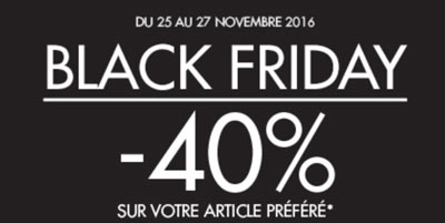Black friday Kiabi