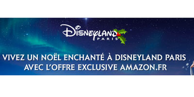 Disneyland Paris promotion Amazon