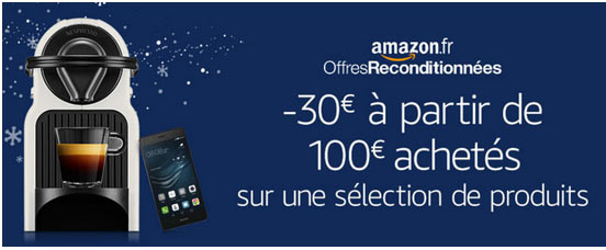 promo produits recondtionnés amazon