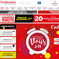 code promo conforama r duction soldes 2018. Black Bedroom Furniture Sets. Home Design Ideas