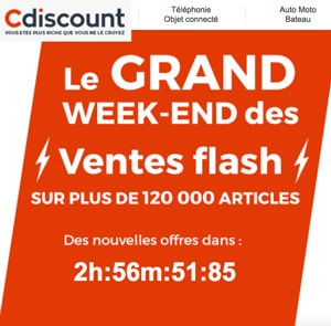 cdiscount vente flash