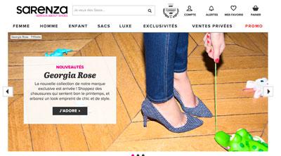Code promo Sarenza 5% de réduction sur les chaussures