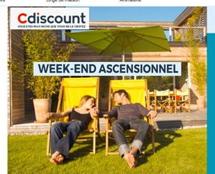 cdiscount des codes promo pour le week end de l 39 ascension ne pas rater. Black Bedroom Furniture Sets. Home Design Ideas