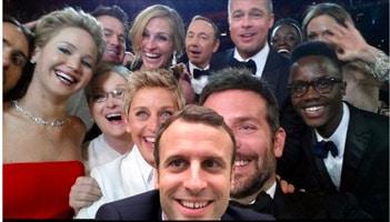 macron selfie gratuit