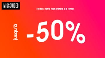 missguided soldes