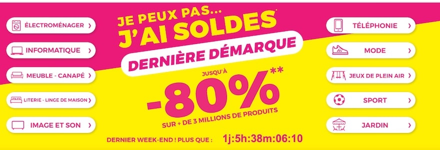 soldes cdiscount promotion