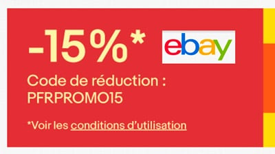 code promo ebay r duction de 15 tous les avantages 2017. Black Bedroom Furniture Sets. Home Design Ideas