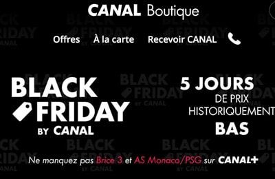 black friday canal plus
