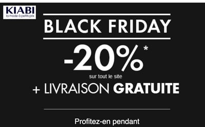 Kiabi black friday