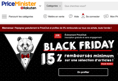 Priceminister Black Friday