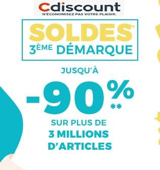 cdiscount soldes