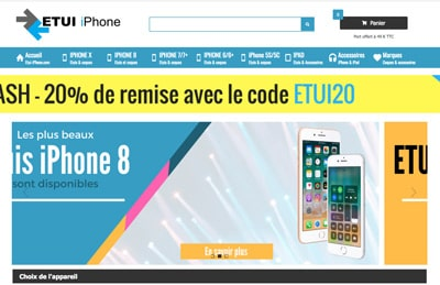 etui iphone code promo