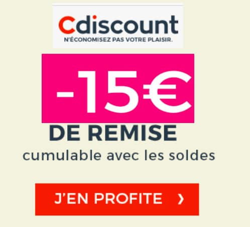 Coupons reductions cdiscount