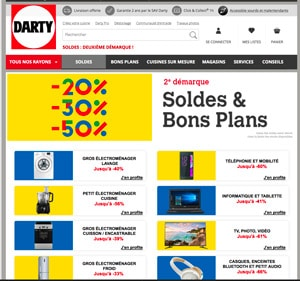 soldes darty promo