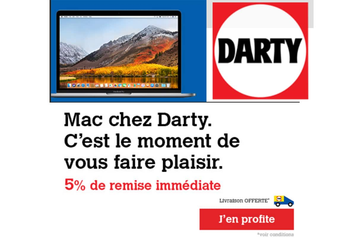 darty promo macbook