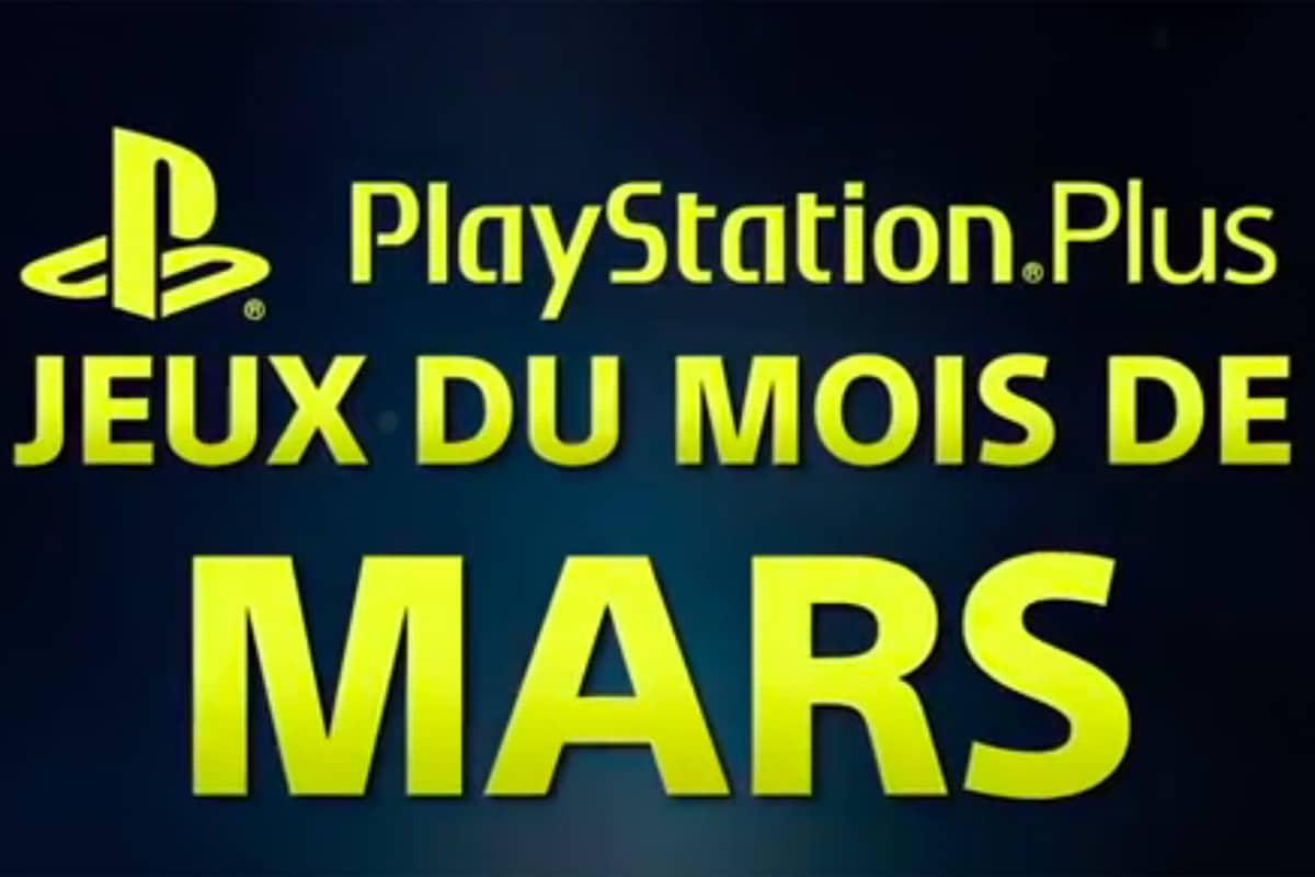 playstation plus (PS+) jeux gratuits mars 2018