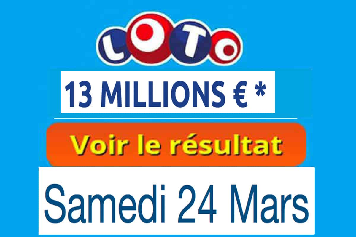 résultat loto 24 mars 2018
