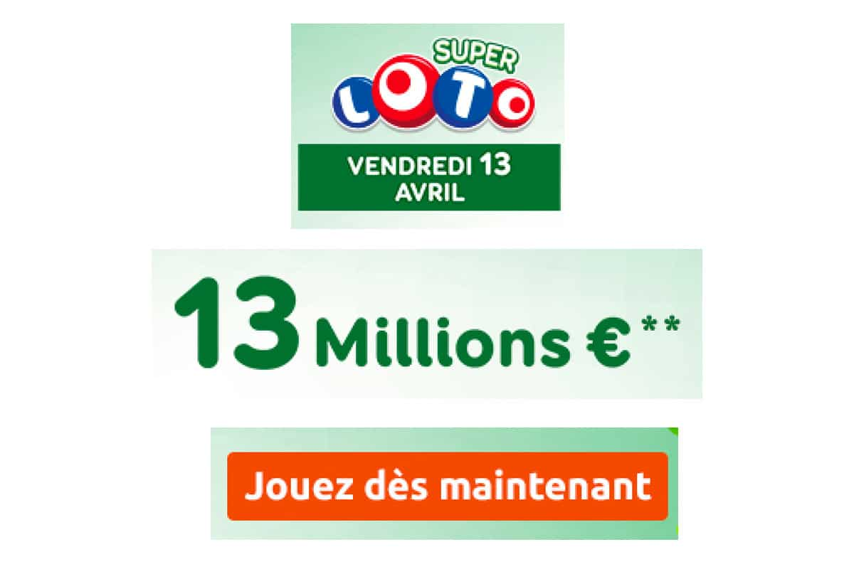super loto vendredi 13 avril 2018
