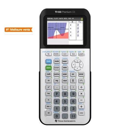Texas Instruments TI-83 Premium CE Calculatrice scientifique