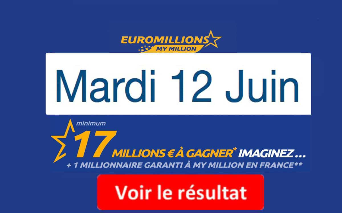 fdj résultat euromillions 12 juin 2018