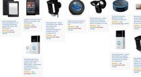 Bon Plan promotion Amazon sur les produits Echo, Fire, Kindle et Ring