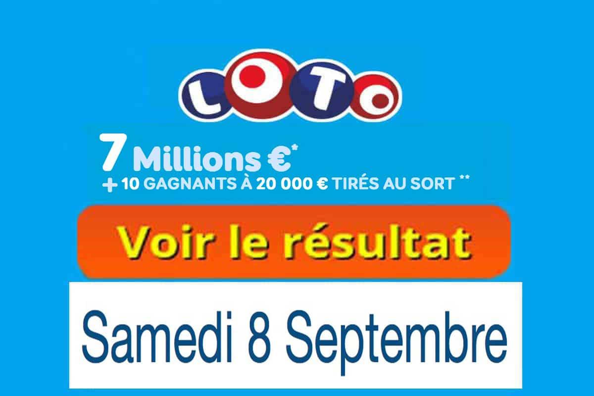 résultat loto 8