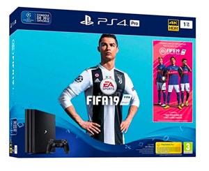 bc9bb91212 Pack PS4 Pro 1 To avec FIFA 19 promo prix le moins cher chez Cdiscount -
