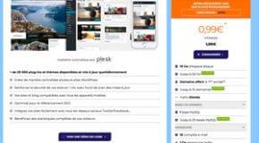 Bon Plan : Offre hébergement WordPress pas cher à 0,99€ HT par mois