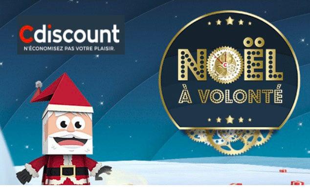 cdiscount noel promo
