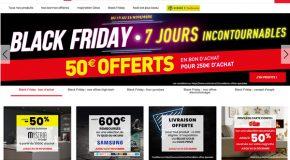 Black Friday Conforama 2018 des réductions et des bons d'achats offerts