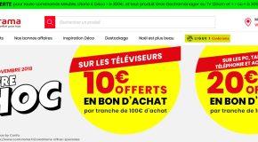 Conforama bons d'achat offerts + code promo livraison gratuite