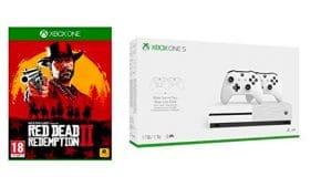 Pack Xbox One S 1 To +  Red Dead Redemption 2 pas cher promo bon plan Amazon
