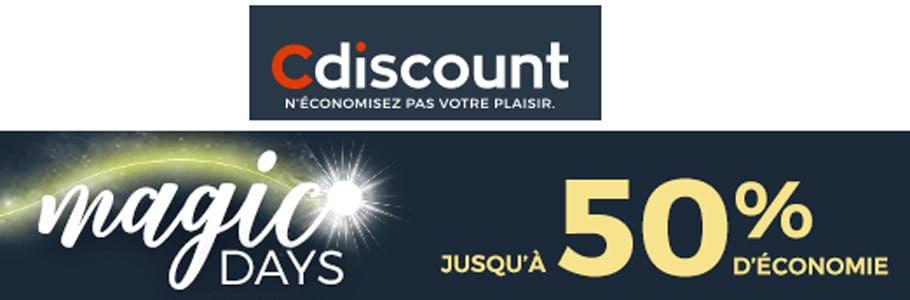cdiscount promo magic days