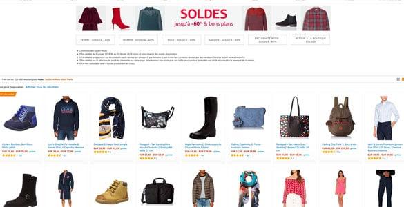 choisir le dernier découvrir les dernières tendances garantie de haute qualité Soldes Amazon: Réductions jusqu'à -60% sur la MODE vêtements ...
