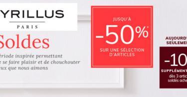 soldes cyrillus promo