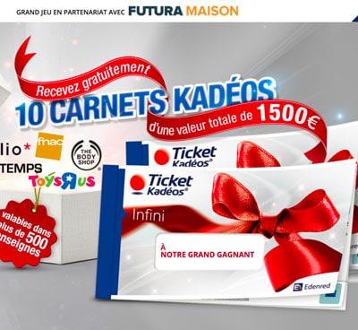 kadeos jeu concours pour gagner des cheques kadeos
