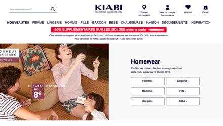 code promo kiabi soldes