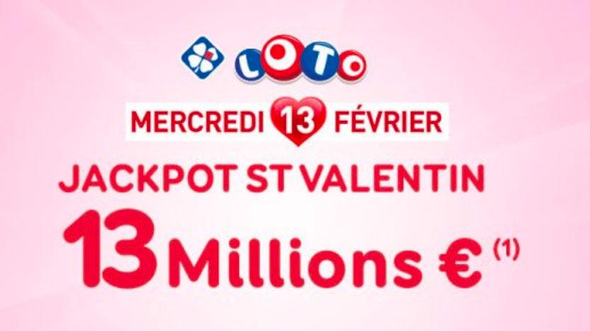 loto saint valentin 13 février 2019