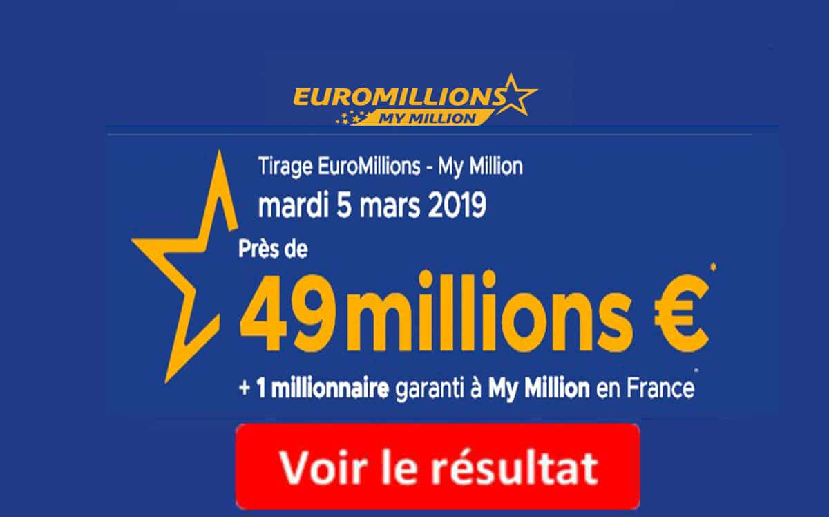 euromillion 7 mars 2019
