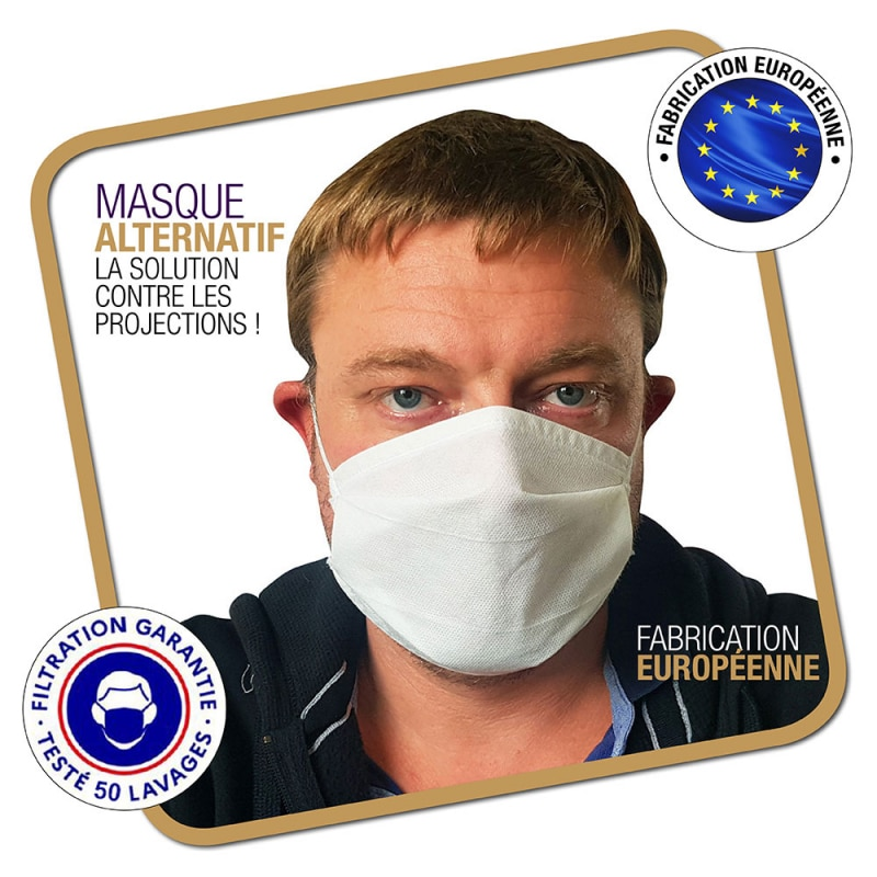 Masque de protection Coronavirus Alternatif Lavable