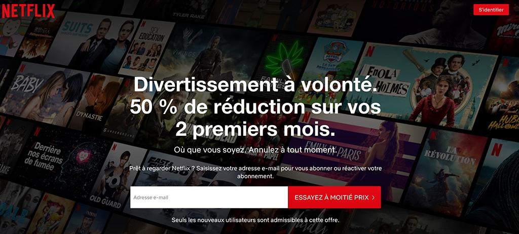 Netflix streaming payant