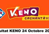 Resultat KENO 24 octobre 2020 tirage midi et soir