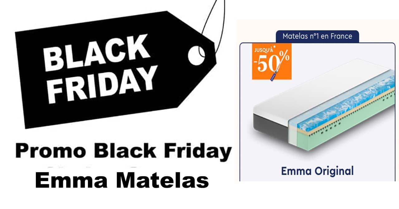 Black Friday Emma Matelas 2020