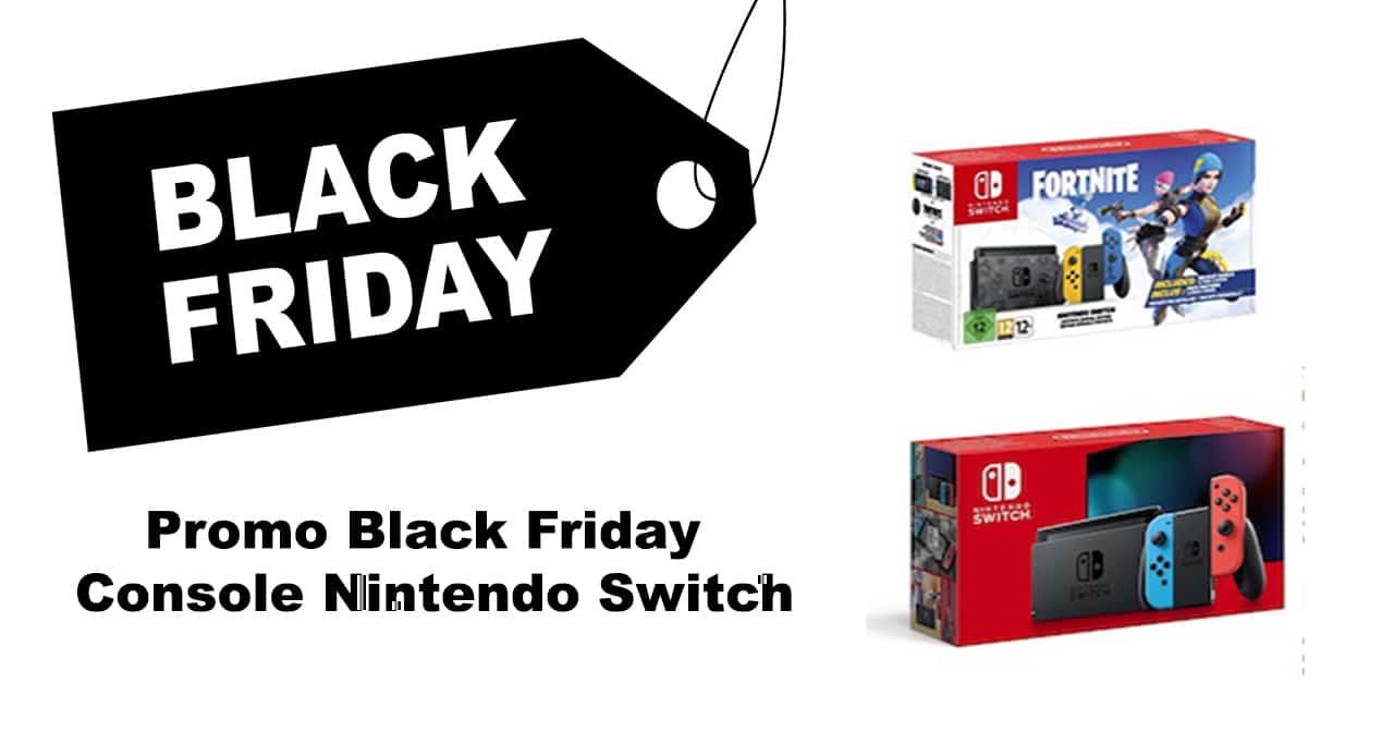 Nintendo Switch Konsole Black Friday