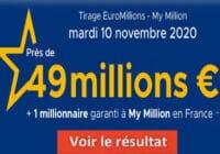 Resultat Euromillion 10 Novembre 2020