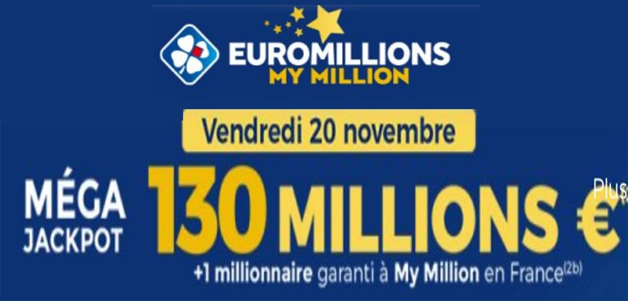 Resultat Euromillion 19 novembre 2020